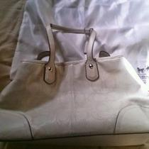 Coach White Leather Medium Satchel Photo