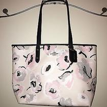 Coach Wildflower City Zip Tote Photo