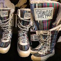 Coach Winter Boots Photo