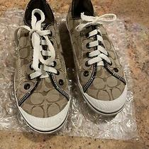 Coach Woman's Sneakers Size 8 Photo