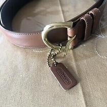 Coach Women Lether Belt Photo