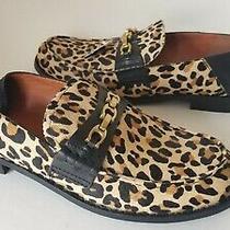 Coach Women Loafer Mules Clogs Slip-on Calf Hair Leopard Print Putnam G2426 6.5 Photo
