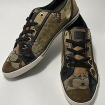 Coach Women Multi Patch Sneakers Size 8.5 Photo