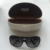 Coach Womens Big Square Shaped Sunglasses Photo