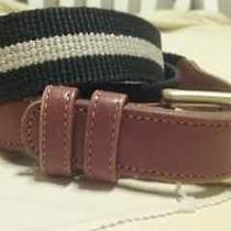 Coach Women's Cloth With Brown Leather Sz 36/85  - Euc Photo