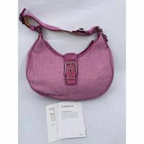 Coach Women's Purple Medium Fabric Tote Bag Photo
