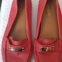 Coach Women's Red Size 7  Photo