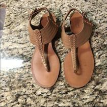 Coach Women's Sandals Tan Color Sandals Size 8 Leather Photo
