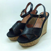 Coach Women's Shoes Null Platform Sandals Black Size 8.5 Photo