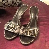 Coach Women's Size 8 Euc Awesome Shoes Photo