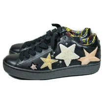Coach Womens Star Embellished Black Fashion Sneakers Shoes Size 95 Photo