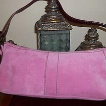 Coach Women's Suede Handbag Photo