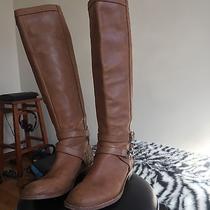 Coach Women's Tan Color Riding Boots Size 8 1/2 Photo