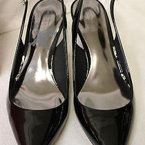 Coach Women's Zarya Patent Leather Black 7.5m 34a0160 Heels New in Box Photo