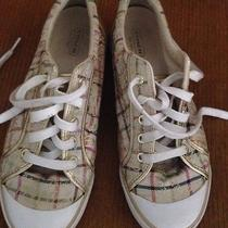Coach Women Shoes  Barrett  Sneakers Gold Signature Size 9.5 Photo
