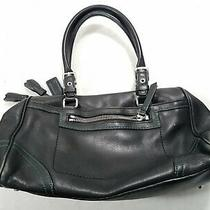 Coach Womens Black Leather Shoulder/hand Small Purse Photo