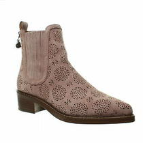 Coach Womens Bowery Dusty Rose Chelsea Boots Size 8 (1439992) Photo