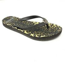 Coach Womens Brown Flip Flops Size 7 8 Shoes Open Toe Slippers Photo
