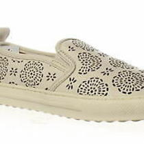 Coach Womens C115 Slip-on Chalk Casual Flats Size 5 (1277897) Photo