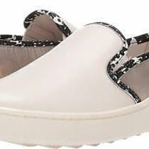 Coach Womens C115 Slip-on Sneaker With Chalk/natural/champagne Size 9.5 Fpnf Photo
