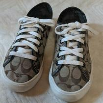Coach Womens Casual Sneaker Size 6b Matching Wallet Available See Listing. Photo