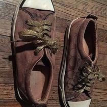 Coach Womens Darian Sneakers Brown Shoes 8.5