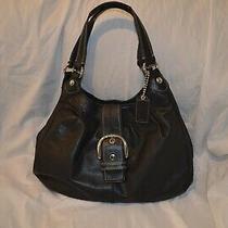 Coach Womens Leather Handbag/purse Looks Great Photo
