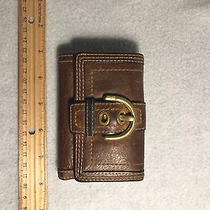 Coach Womens Wallet - Leather - Genuine Photo