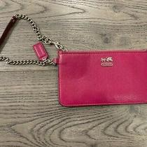Coach Wristlet Berry Photo