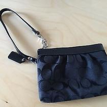 Coach Wristlet - Black Photo