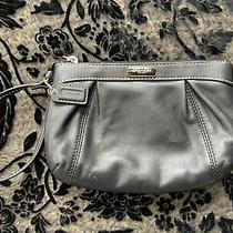 Coach Wristlet Black Leather Photo