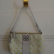 Coach Wristlet/clutch Perfect Summer Bag Yellow Photo