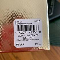 Coach Wristlet in Box Khaki With a Blush Middle . Comes With 2 Charms Photo