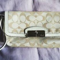 Coach Wristlet Large Used Photo