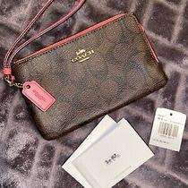 Coach Wristlet Nwt Photo