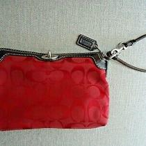 Coach Wristlet Red Photo