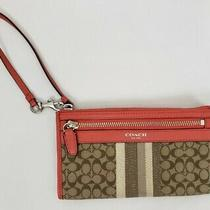 Coach Wristlet Wallet Clutch Photo