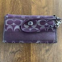 Coach Wristlet Wallet Used Photo