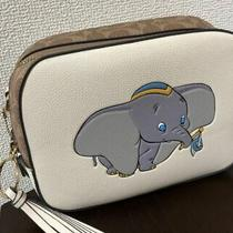 Coach X Disney Collaboration Shoulder Bag Disney / Dumbo Mini Bag Case Unused Photo