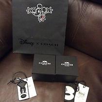 Coach X Disney Mickey Profile Hangtag  Photo