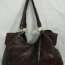 Coach Xl Limited Edition Brown Leather Field Tote Photo