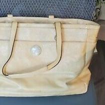 Coach Yellow Diaper Bag Oversize Purse Photo