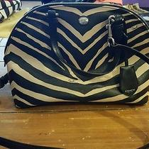 Coach Zebra Print Dome Handbag Photo