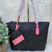 Coach Zip Tote With Wristlet Photo