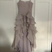 Coast Couture Blush Silk Hi Lo Dress Size 8 Photo