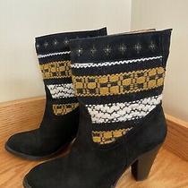 Cobra Society Womens Canon Black Southwestern High Heel Ankle Boots Size Eu38 Photo