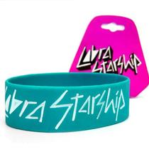 Cobra Starship - Synthpop Warped Tour Aqua Rubber Wristband Bracelet - New Photo