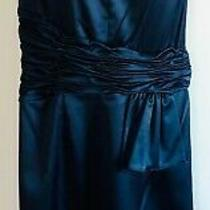Cocktail Dress Chetta B Sherrie Bloom Peter Noviello Sz 8 Blue New W Tags C08 Photo