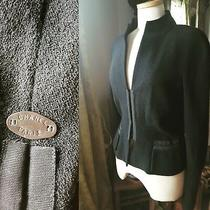 Coco Chanel Black Blazer Size 6 Medium Photo