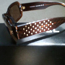 Coco Chanel Brown Quilted Sunglasses Photo